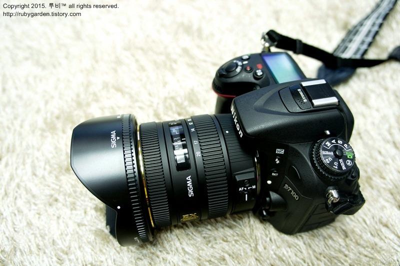 시그마 광각렌즈 (SIGMA 10-20mm F3.5 EX DC HSM)개봉기