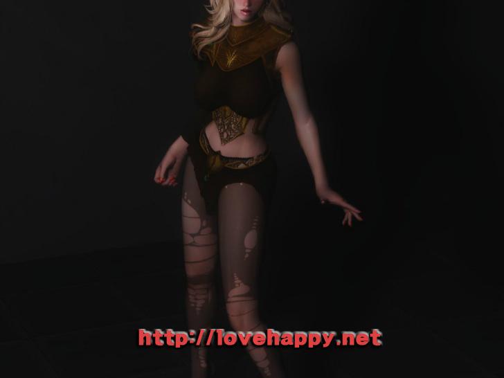 스카이림 여캐 - bosmer priestess 008