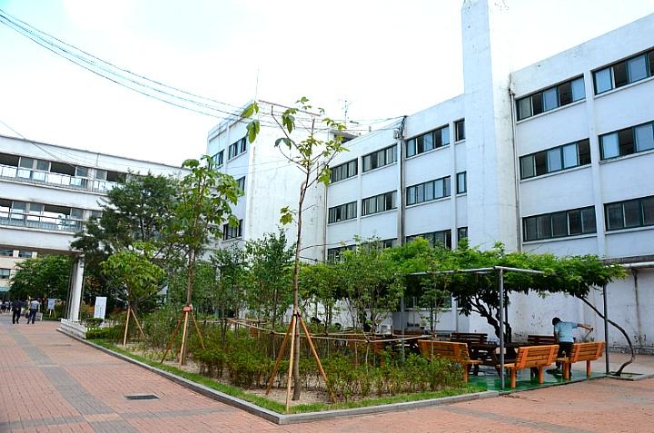 덕수고등학교 학교숲