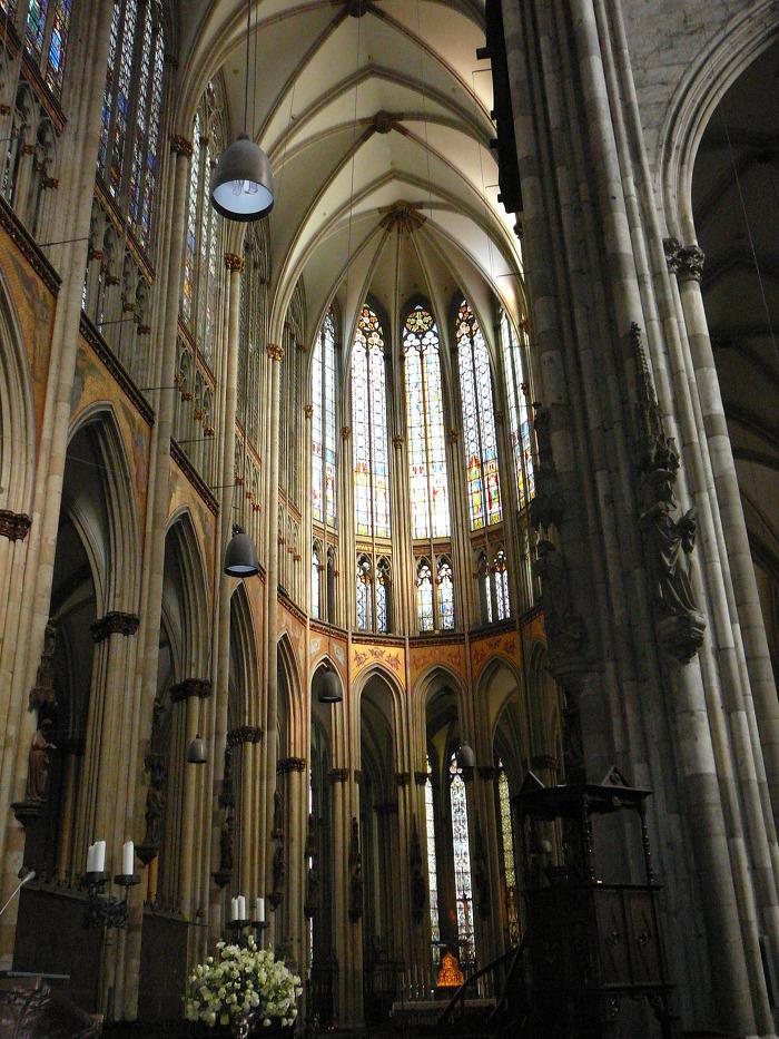 쾰른 대성당 Cologne Cathedral 내부