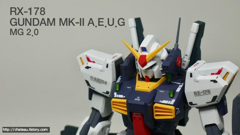 RX-178 Gundam MK II - A.E.U.G ( MG 2.0 )