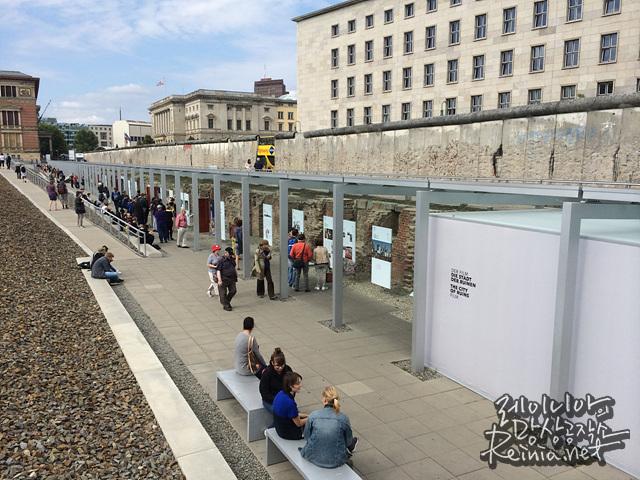 베를린 장벽의 일부
