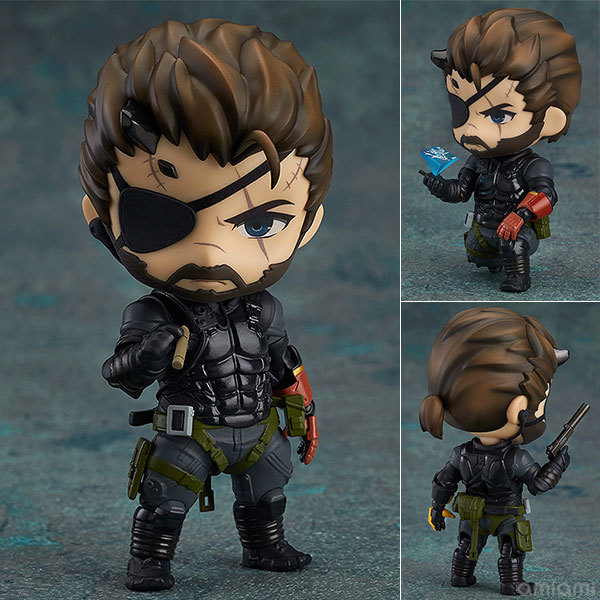 Metal Gear Solid Snake Nendoroid Figure