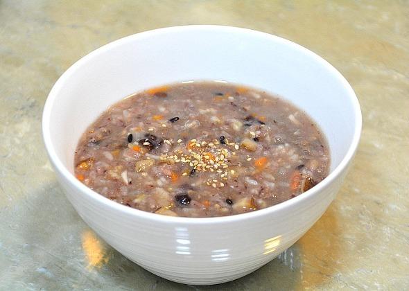 오곡밥 리폼요리-속편해지는 오곡밥 소고기죽
