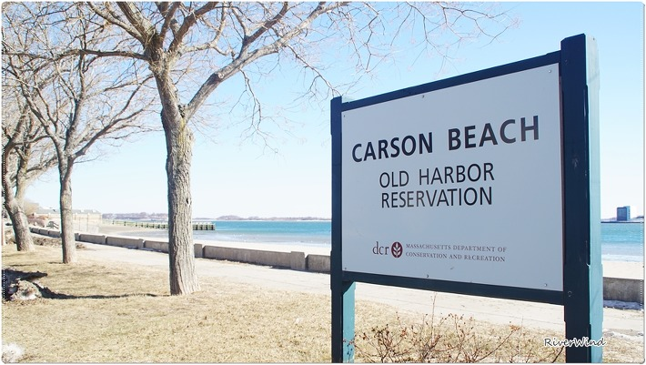 Old harbor beach