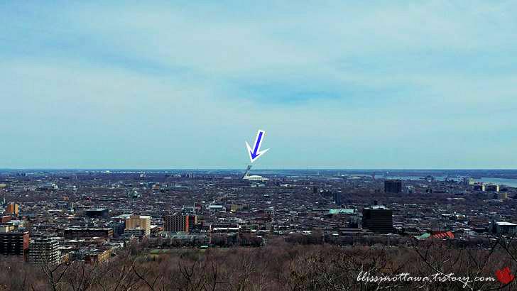 몬트리올 올림픽 타워입니다