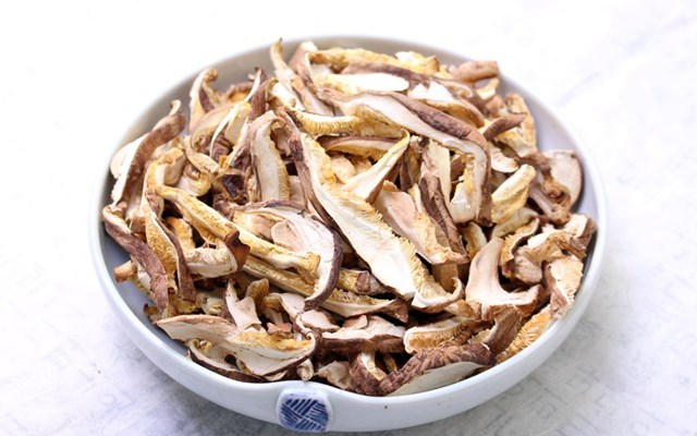 표고버섯 비타민D 식이섬유가많은음식