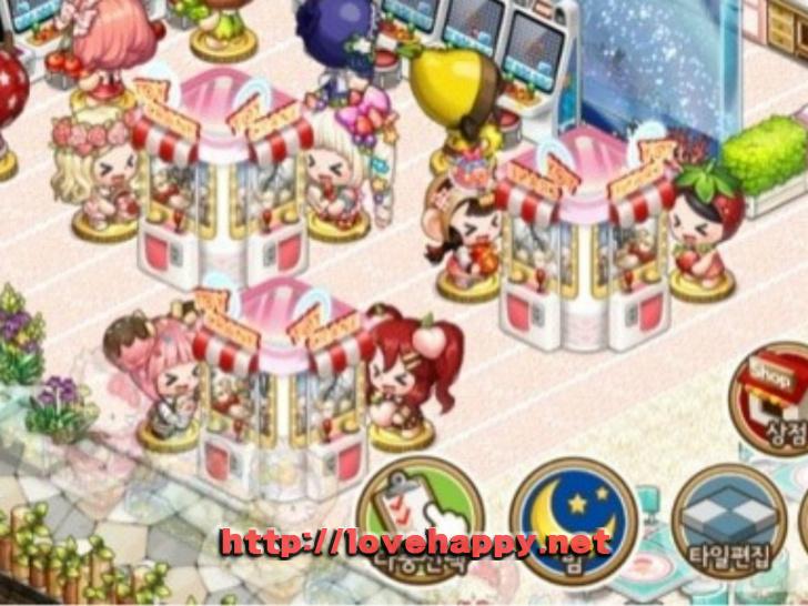 인형뽑기를 즐기는 귀여운 베베들이 있는 오락실 아이러브 파스타 인테리어 by 매니저 003