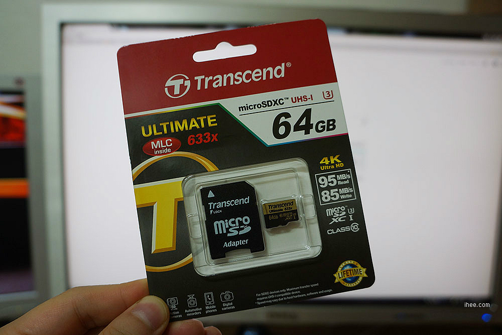 트랜센드 microSDXC CLASS10 UHS-I U3 Ultimate PRO 633X 64GB