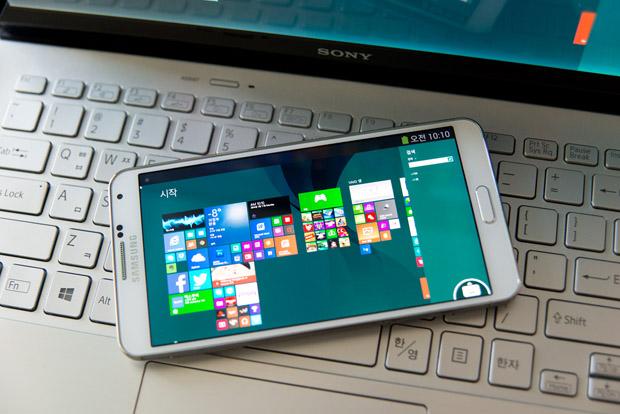 갤럭시 노트3, Galaxy Note 3, PC 넣기, 원격제어, TeamViewer, 팀뷰어, 윈도우즈 8, RDP, Remote Desktop,