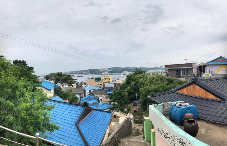 포항 당일 버스 투어  구룡포-일본인마을-호미곶-호미반도둘레길-죽도시장
