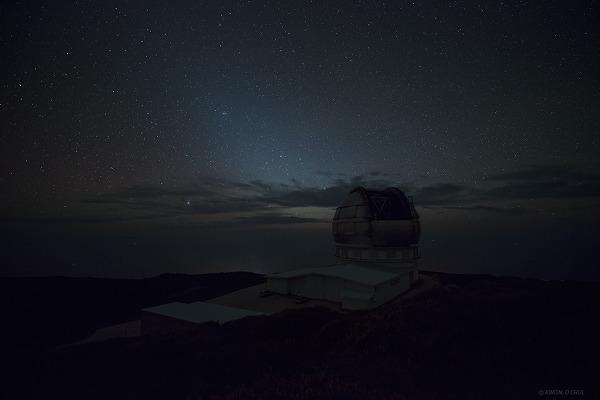 라팔마 Gran Telescopio Canarias 천문대의 하룻밤