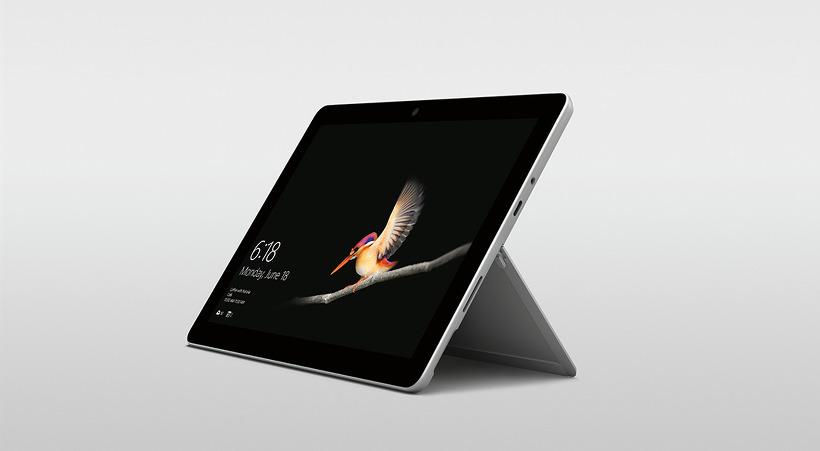마이크로 소프트 보급형 10인치 서피스 고(surface go) 태블릿 PC 공개