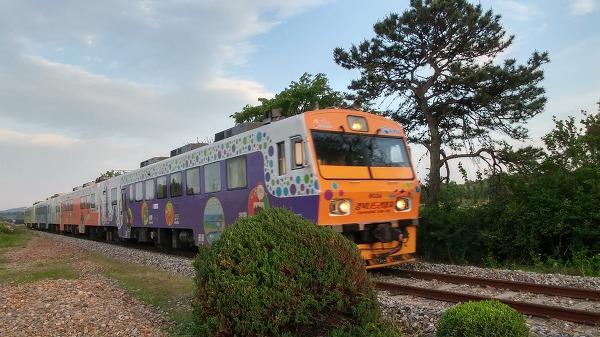 용궁역 경북나드리열차
