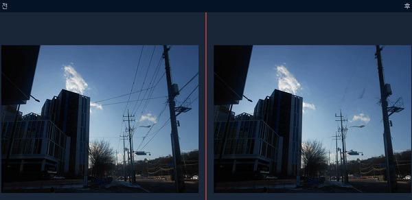 모바비 포토 에디터 - 간단한 사진 보정 프로그램