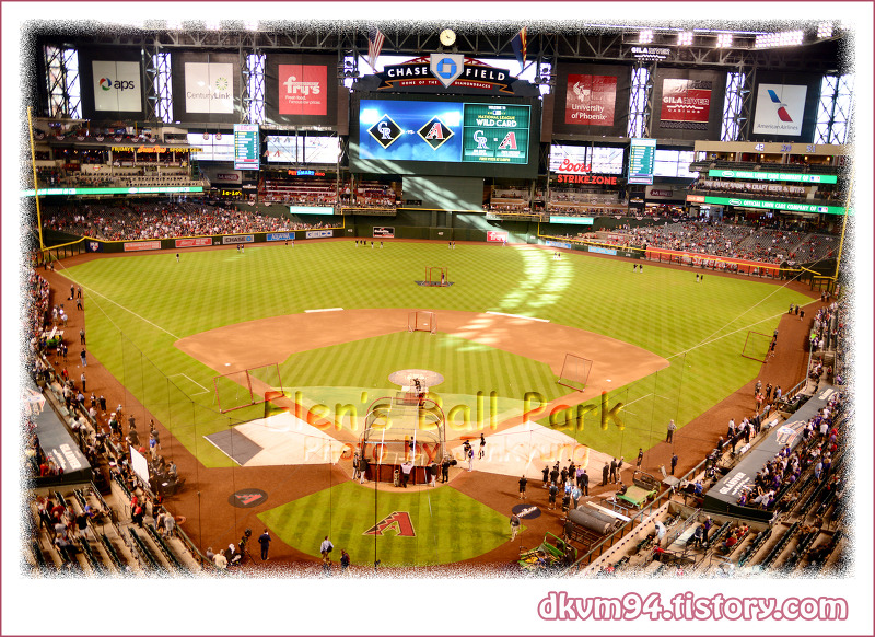 [MLB TOUR(16)] 체이스 필드 : 애리조나 다이아몬드백스의 홈구장 (Chase Field : Home of the Arizona Diamondbacks)