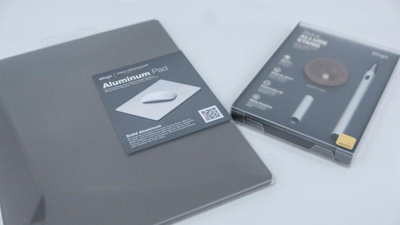 엘라고 알루미늄 마우스패드, 스타일러스 후기