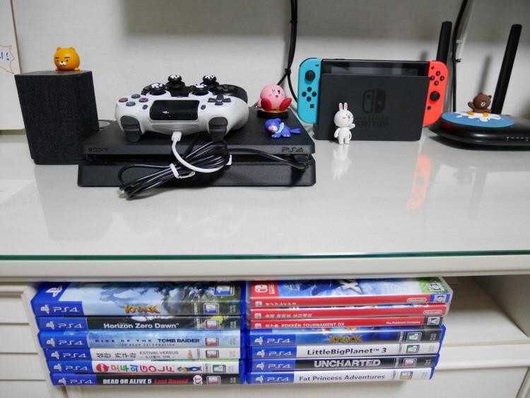 신혼부부 PS4 닌텐도 스위치 카카오미니