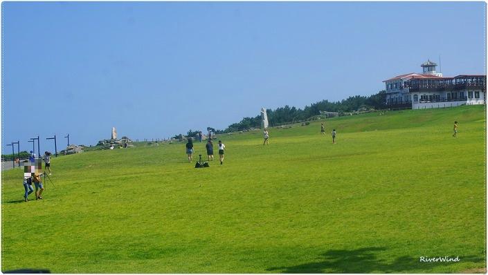 간절곶 풀밭
