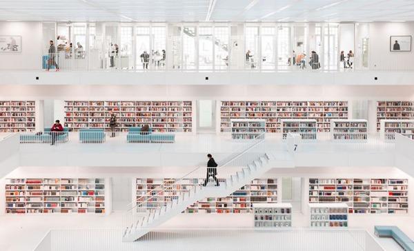 건축 부문 1위. 책의 성지(Hans-Martin Doelz)