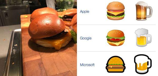구글이 구내식당에 선보인 안드로이드 버거