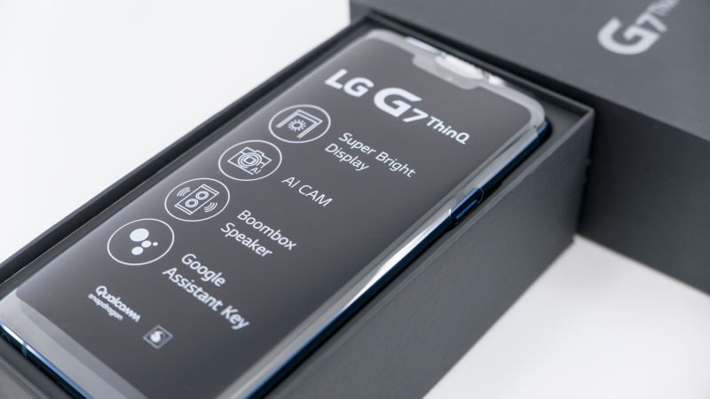 LG G7 Thinq (씽큐) 뉴 모로칸 블루 개봉기