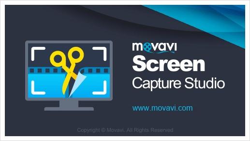 컴퓨터 화면 녹화 Movavi 스크린 캡쳐 입니다