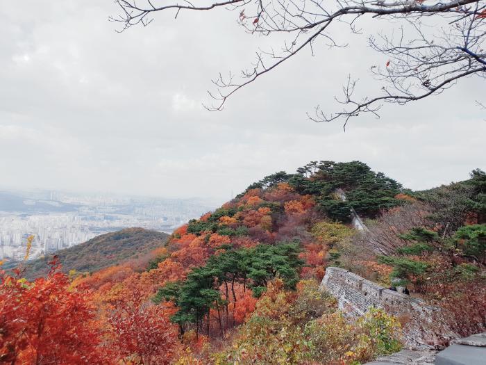 남한산성 가을풍경