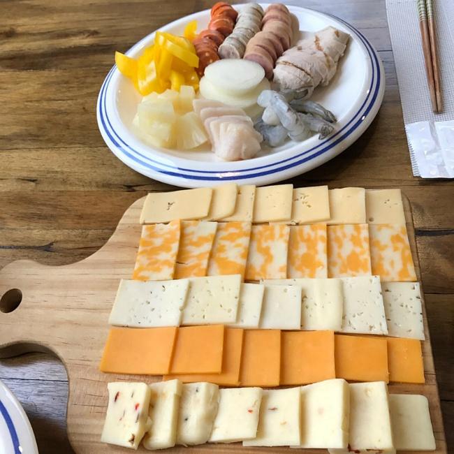 스위스 치즈요리