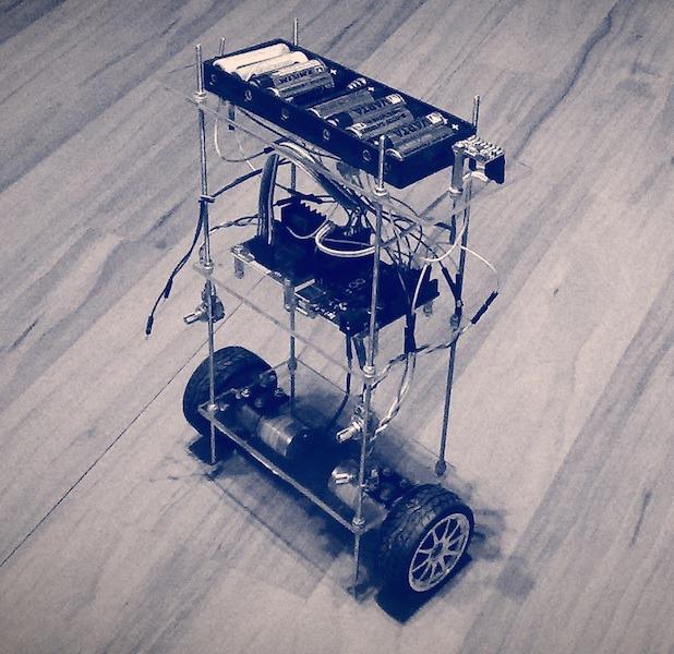 Franko – Arduino Self Balancing Robot – Zalophus's DesignHouse