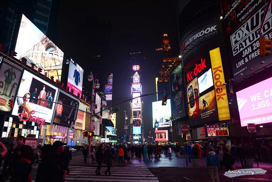 [미국/뉴욕] 화려하고 복잡한 뉴욕 타임스퀘어