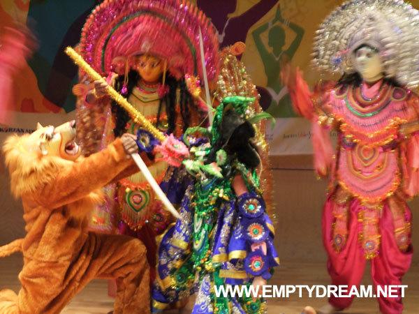 사랑-인도문화축제, 푸룰리아 차우 댄스