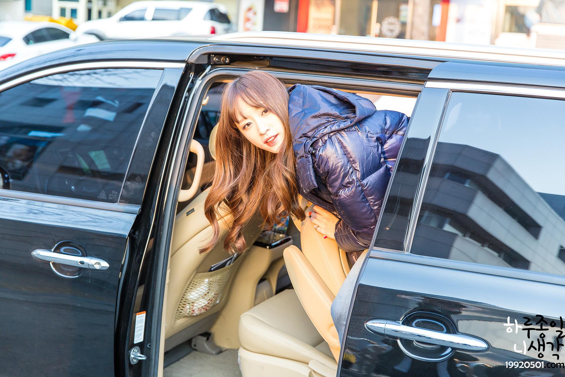 [HQ/FANTAKEN] 15.01.04 EXID's Hani at KBS Hellorecording